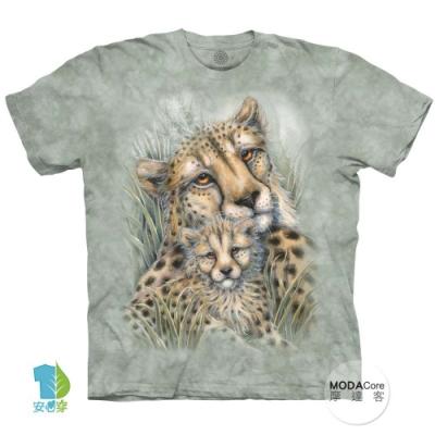 摩達客-美國進口The Mountain 獵豹窩 純棉環保中性短袖T恤