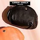MARIA CARLA 月光微皺隨身小包 日光步調系列(夜光黑 )