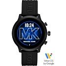 Michael Kors Access 觸控智能手錶(MKT5072)-黑色/44mm