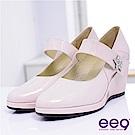 ee9 閃耀之星~厚底防水台瑪莉珍楔型高跟鞋~甜美芋