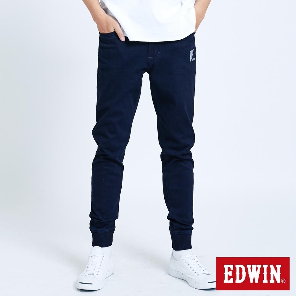 EDWIN JERSEYS 迦績 EJ6 涼感 EFS 束口牛仔褲-男-原藍色