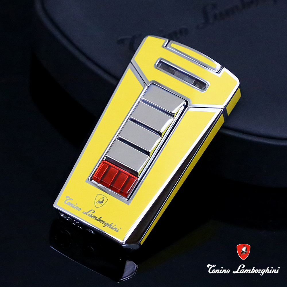 藍寶堅尼Tonino Lamborghini AERO LIGHTER 打火機(黃)