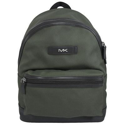 MICHAEL KORS KENT 輕量休閒帆布後背包(深綠)