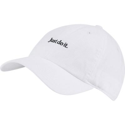 NIKE 帽子 老帽 遮陽帽 棒球帽 運動帽 白 CQ9512100  NSW H86 CAP JDI WASH CAP