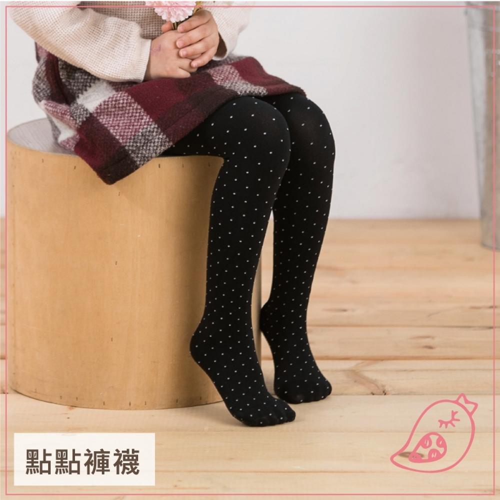 貝柔兒童彈性褲襪-點點(3色可選)