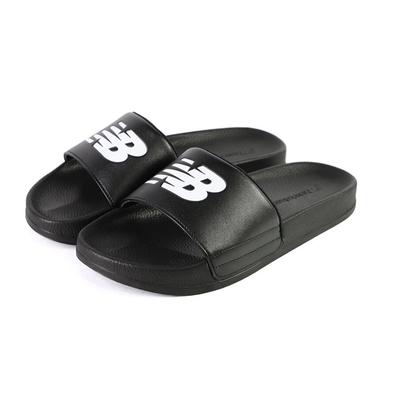 New Balance 男女涼拖鞋 黑-SD1101GBK-M