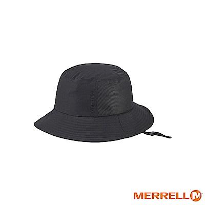 MERRELL 吸濕排汗快乾休閒帽-黑(5318HC117)