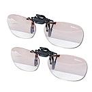 時尚星 抗藍光夾式眼鏡配戴件2件組