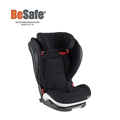 BeSafe iZi Flex FIX 成長型兒童汽車安全座椅(銀石黑)