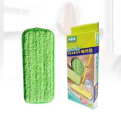 【加價購】多魔潔 360度轉頭特級乾濕兩用超纖平板拖把(1入)