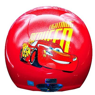 Cars 汽車總動員 閃電麥坤 亮紅兒童半罩安全帽(中童)