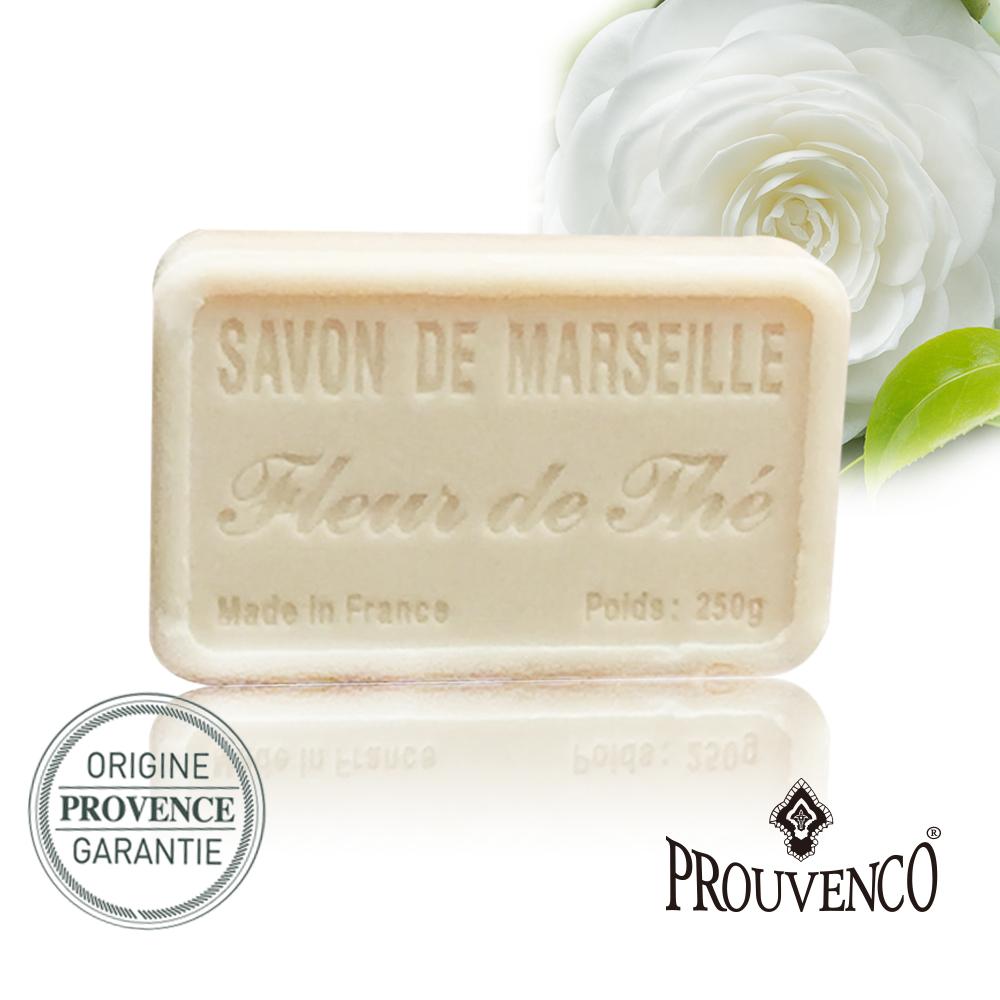 法國PROUVENCO 普羅旺詩香氛馬賽皂-茶花x1入