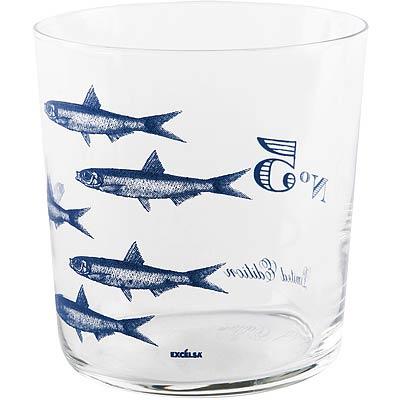 EXCELSA輕透玻璃杯丁香魚370ml