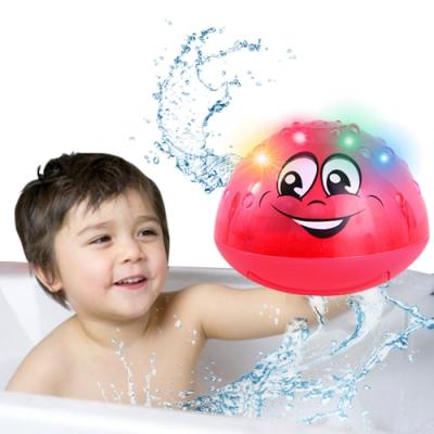 JoyNa嬰兒洗澡電動自動感應噴水球 寶寶浴室戲水玩具