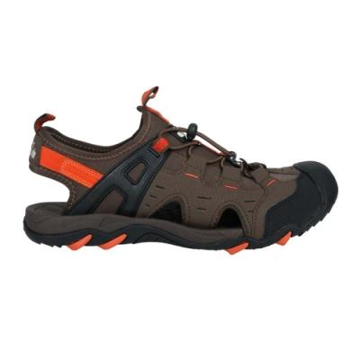 DIADORA 男護趾運動涼鞋-健走鞋 水陸鞋 懶人鞋 DA71200 黑棕橘