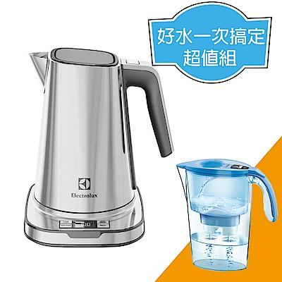 伊萊克斯 1.7L設計家系列智能電茶壺/熱水壺 EEK7804S