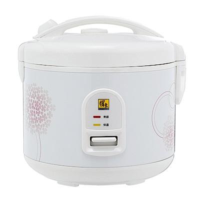鍋寶 6人份直熱式電子鍋(RCO-6015-D)鋁合金厚釜內鍋