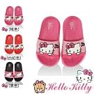 Hello Kitty童鞋 輕量減壓吸震室內外拖鞋-桃.白紅.黑
