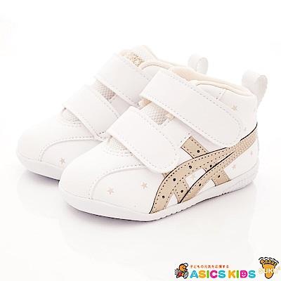 亞瑟士SUKU2機能鞋 護踝支撐學步款 0195白(寶寶段)