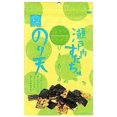 日本MARUKA 瀨戶內酸橘風味海苔脆餅(65g)