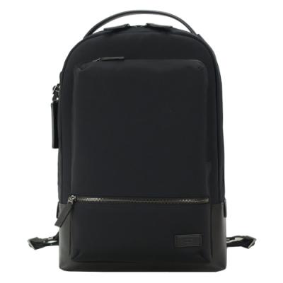 TUMI HARRISON BATES簡約尼龍後背包(適用14吋筆電)-黑