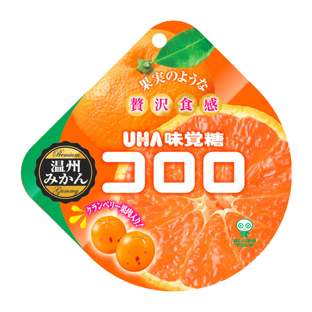 味覺糖 酷露露Q糖-蜜柑蔓越莓味(40g)