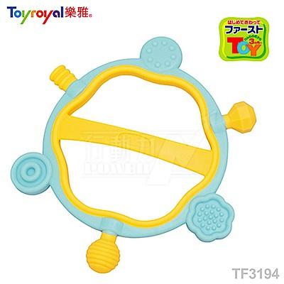 【任選】日本《樂雅 Toyroyal》LOVE系列-六角型固齒玩具