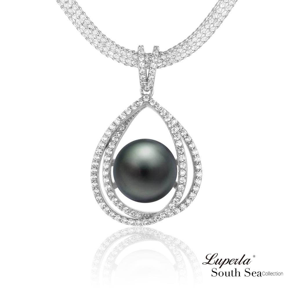 大東山珠寶 南洋大溪地黑珍珠項鍊 極致奢華 璀璨之星