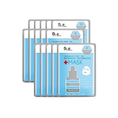 (即期品)DF美肌醫生  玻尿酸保濕補水面膜15片(效期2020.02)