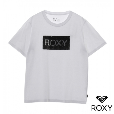 【ROXY】 GLITTER 針織T恤 白
