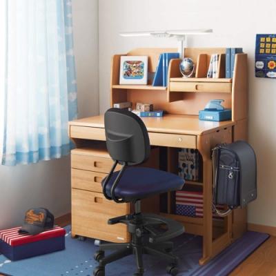 KOIZUMI_Woody Compact兒童成長實木書桌組ODF-593