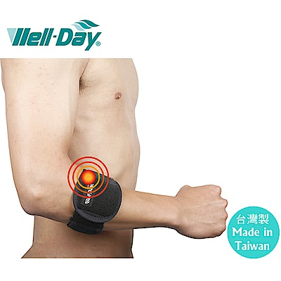 【WELL-DAY 晶晏】氣墊護肘 /護手肘/護具(肢體裝具 未滅菌)
