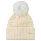 BURBERRY 羊毛材質大毛球毛帽(白)