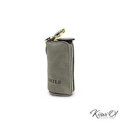 Kiiwi O! 大容量 鑰匙包/零錢包 Willa 深灰