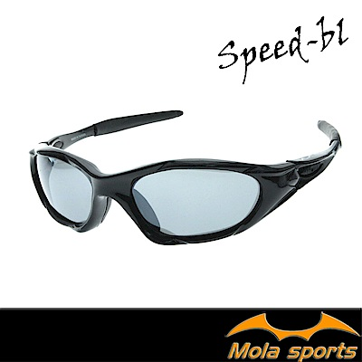 MOLASPORTS摩拉青少年運動太陽眼鏡 兒童(7-11)黑色 自行車 跑步 棒球 都適