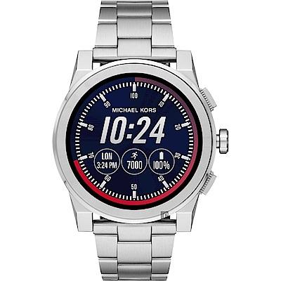 Michael Kors Access 觸控智能手錶-銀/47mm