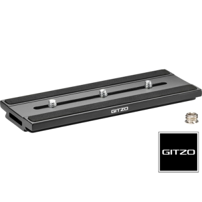 GITZO GS 5370LDR D型長版快拆板 (公司貨)  通用ARCA SWISS雲台 GS5370LD改版