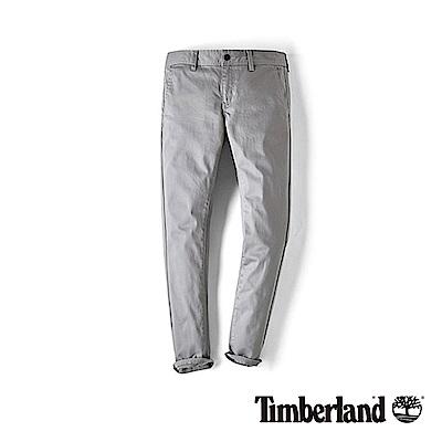 Timberland 女款鐵灰色舒適顯瘦緊身彈力棉休閒褲|B2203