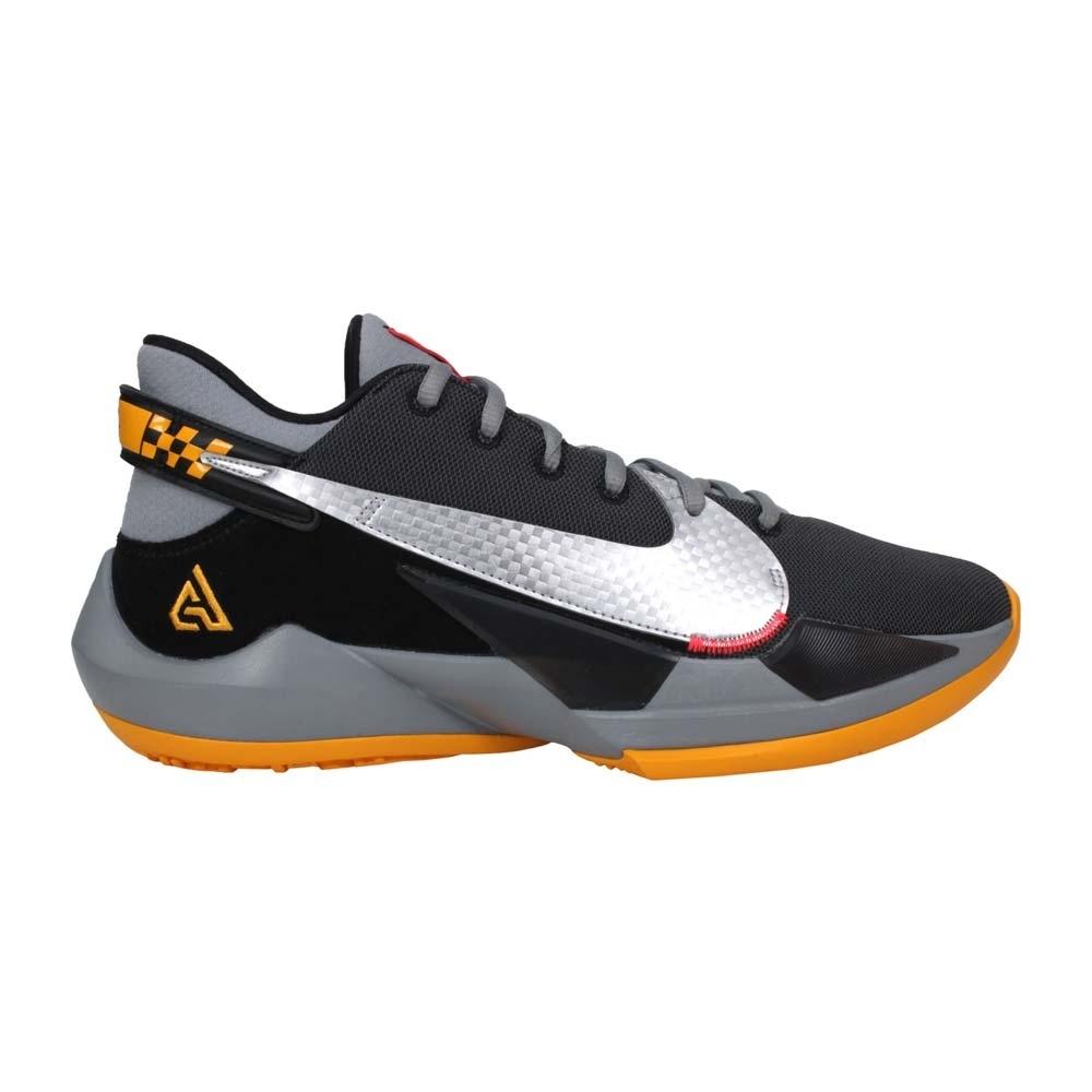 NIKE ZOOM FREAK 2 EP 男籃球鞋-訓練 運動 字母哥 CK5825006 黑黃銀