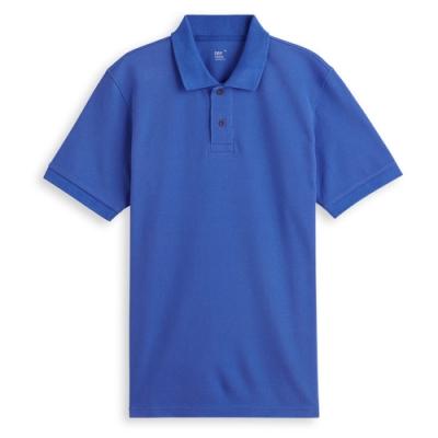 男人幫大尺碼 P1568透氣速乾 吸溼排汗素面短袖POLO衫