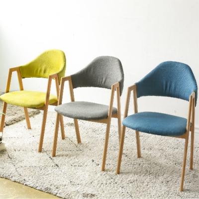 完美主義 簡約靠背餐椅/楓木椅/電腦椅/化妝椅(3色)