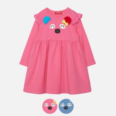 WHY AND 1/2 mini 棉質萊卡高腰洋裝 多色可選 1Y~4Y