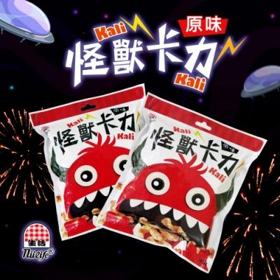 生活飲料‧生活怪獸卡力卡力餅乾(原味)12包/箱,共2箱