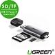 綠聯 SD/TF USB-C/Type-C+USB3.0兩用讀卡機 product thumbnail 1