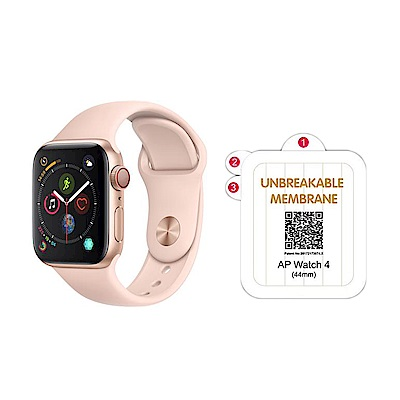 QinD Apple Watch (44mm) 金剛隱形膜