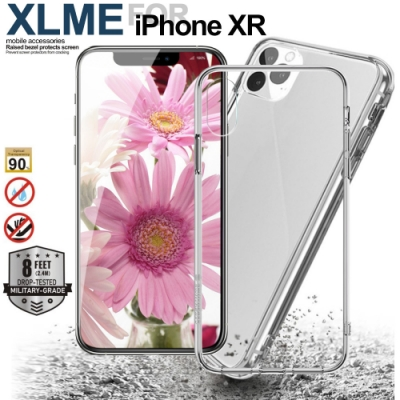 XLME for  iPhone XR  6.1吋防摔全透明防摔軍規手機殼