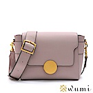 WuMi 無米 瑪格莉特法式圓釦包 淡粉紫(快)