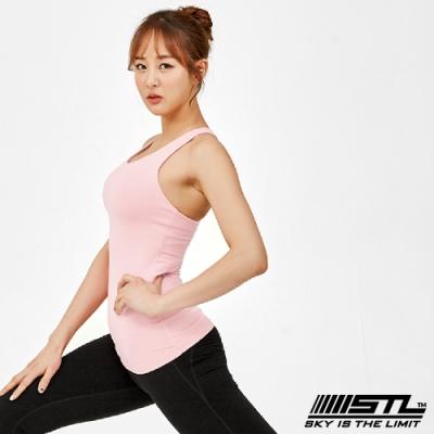 STL yoga bra T SS Balance Slim 韓國瑜珈 運動機能訓練背心上衣(含胸墊)平衡寶寶粉