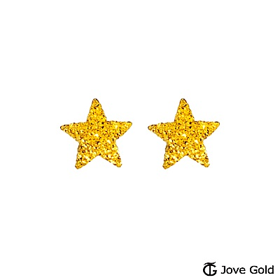 Jove gold 許願星黃金耳環