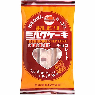 日本製乳 牛奶餅-巧克力風味(54g)